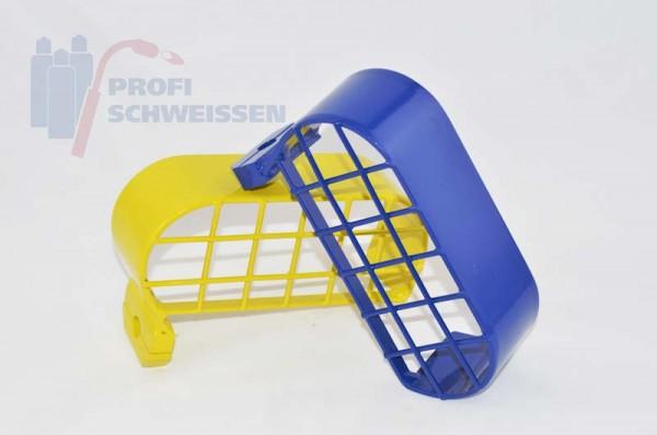 Schutzbügel für Druckminderer gelb