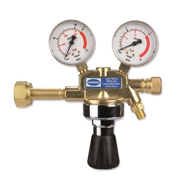 Druckminderer Sauerstoff 200 / 10 bar