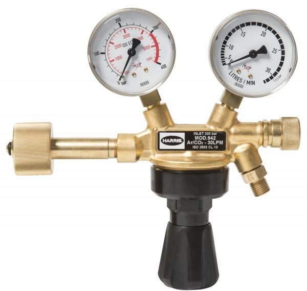 Druckminderer Mischgas Argon CO2 300 bar