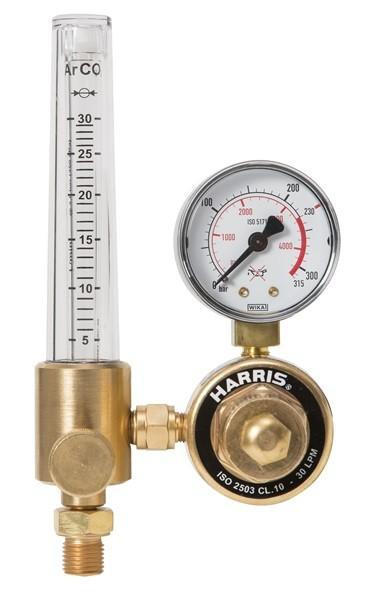 Druckminderer Argon / CO2 200 bar mit Flowmeter