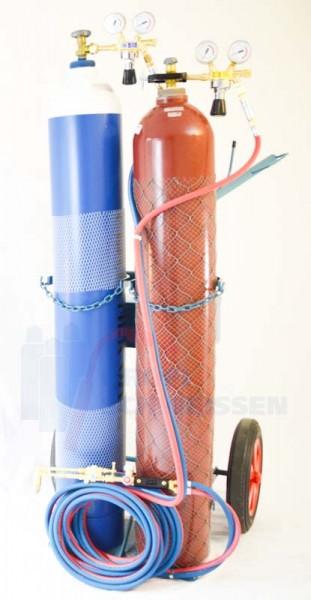 50l Autogenanlage Acetylen / Sauerstoff
